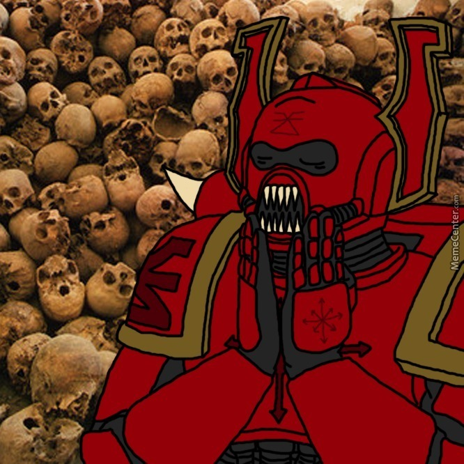 Tfw You Collected Enough Skulls For The Skull Throne