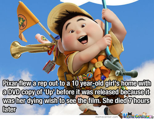 Thank You, Pixar