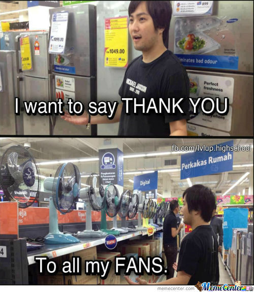 Thank You To All My Fans