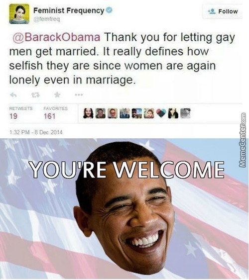 obama dosnt want gay marrage