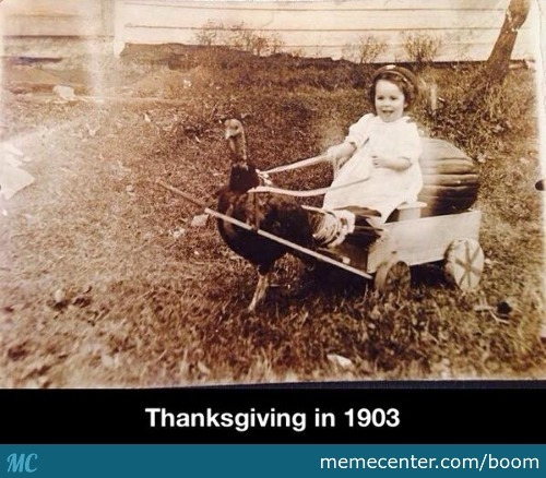 Thanksgiving In 1903