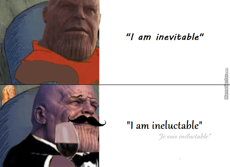 Thanos In French