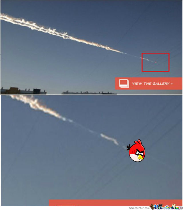 That Ain't A Meteor...