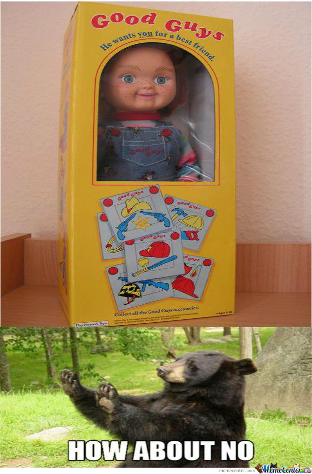 That's A Creepy Toy!!