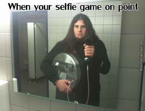 That's How You Take A Selfie