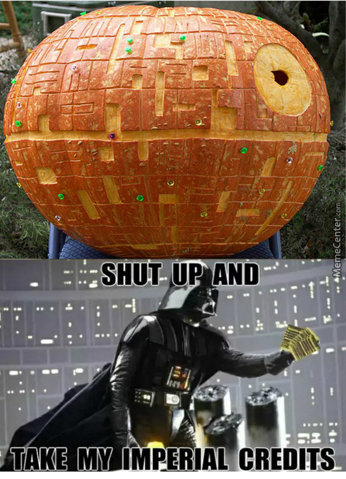 That's No Pumpkin! It's A Space Station!
