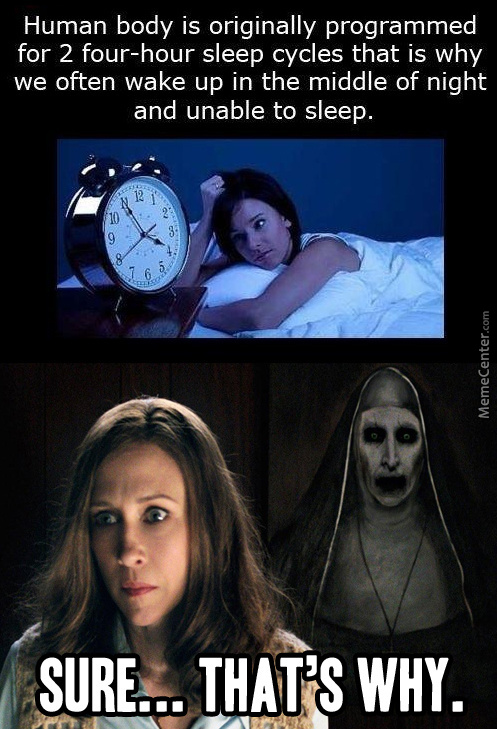 That's Why I Always Wake Up At 3:07 In The Morning...