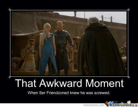 That Awkward Game Of Thrones Moment...