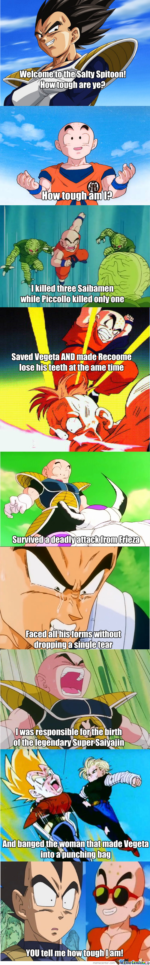 That Awkward Moment When You Realize Kuririn Is Pretty Badass 0.0