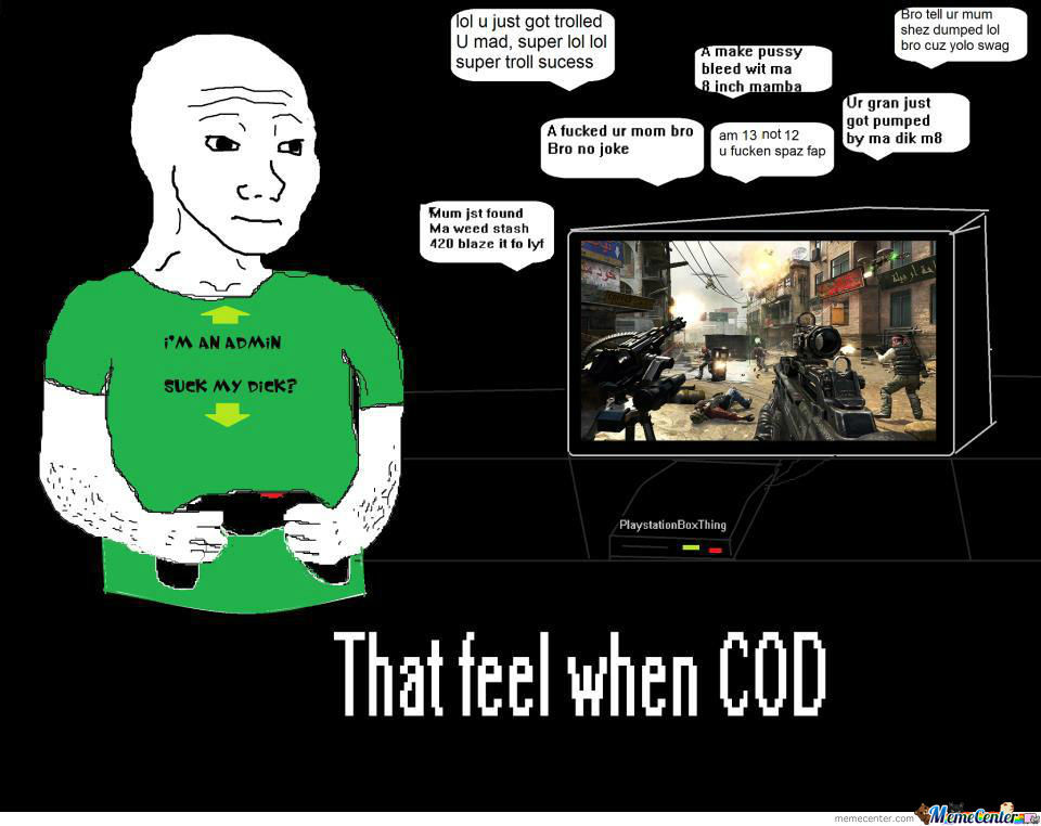That Feel When Cod