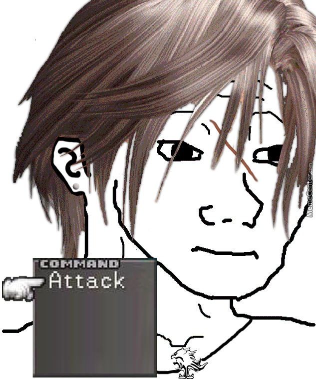 That Feel When No Gf Anyone Whos Played Ff8 Will Understand By