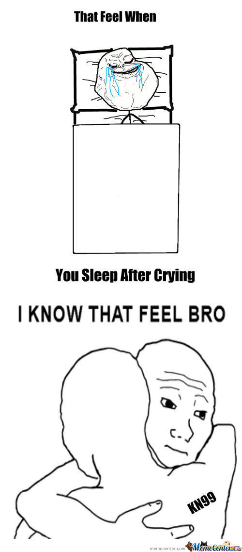 That Feel When You Sleep After Crying