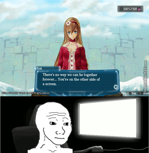 That Feel When Your Waifu Give You The Harsh Truth