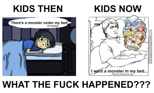 That Green Text Made Me Laugh So Hard... I Still Don't Want Monster Though