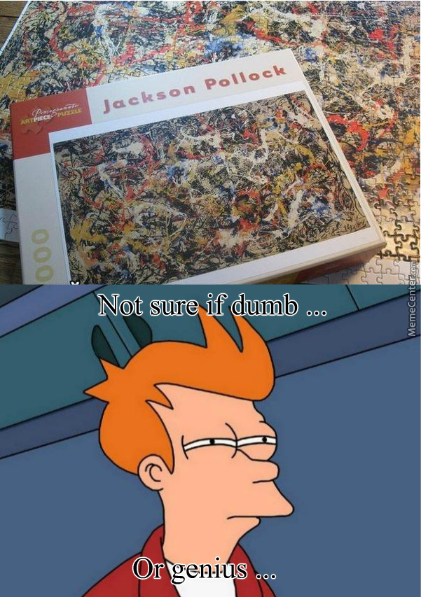 That Guy Is Really Good At Jigsaw Puzzles