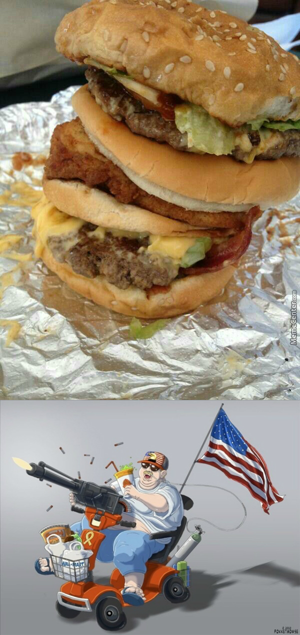That Is A Big Mac Fused With A Mcchicken, Only A Murican Would Think Of This