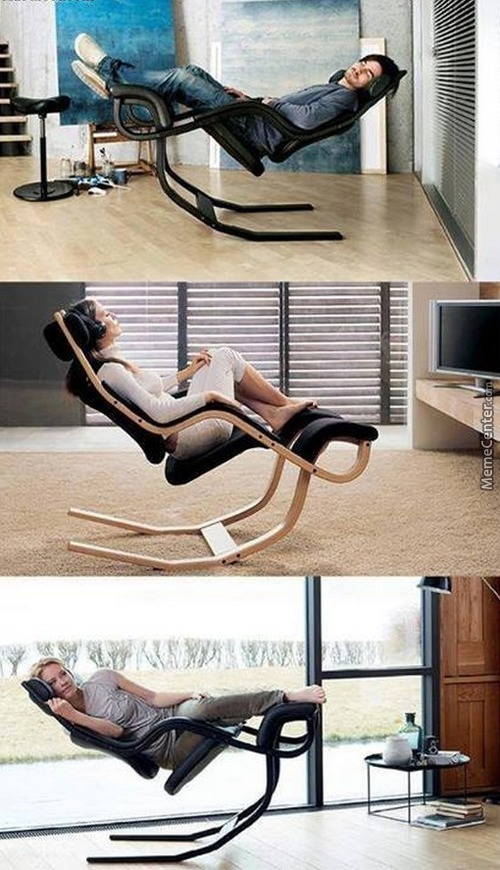 That Is One Neat Looking Chair
