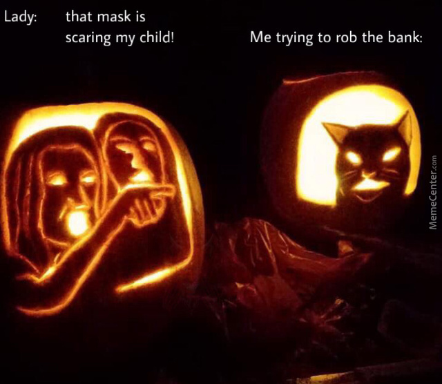 That Mask Is Scaring My Child