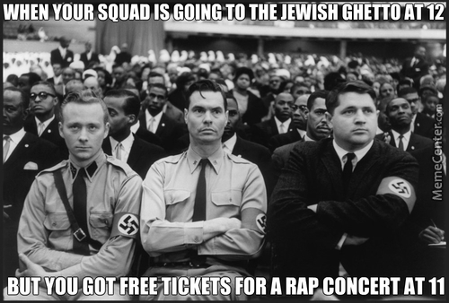 That Negro Is Dropping Sick Rhymes Faster Than A Stuka Plane