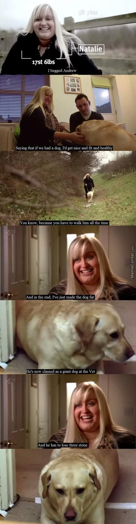 That Poor Dog...
