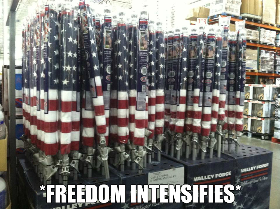 Thats A Lot Of Freedom