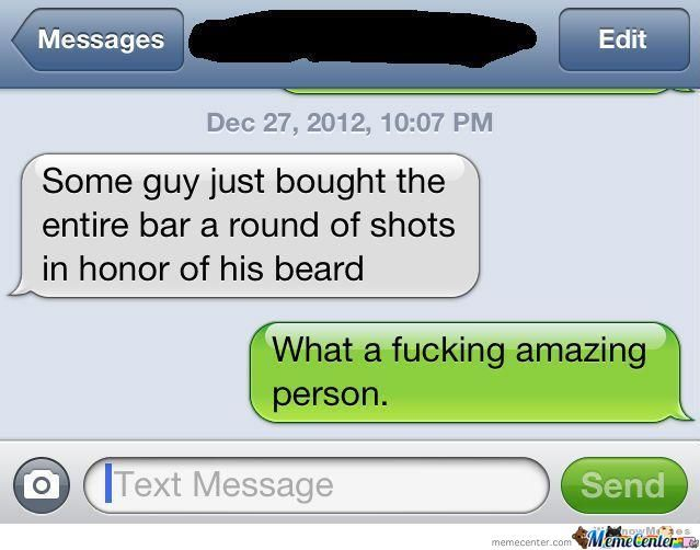 That's One Important Beard