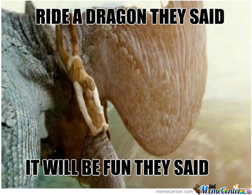 That's Why I Don't Raise Dragons