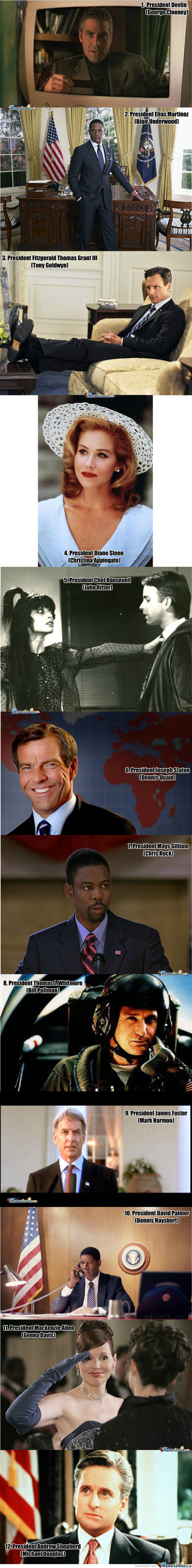The 12 Hottest Fictional Presidents