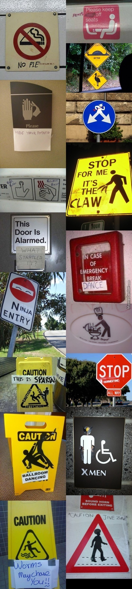 The 17 Most Creative Ways People Have Turned Boring Signs Into Something Hilarious