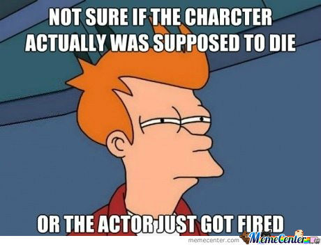 The Actor Got Fired