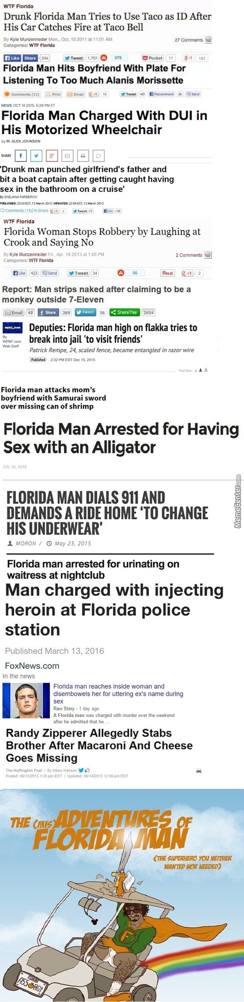 The Adventure Of Florida Man