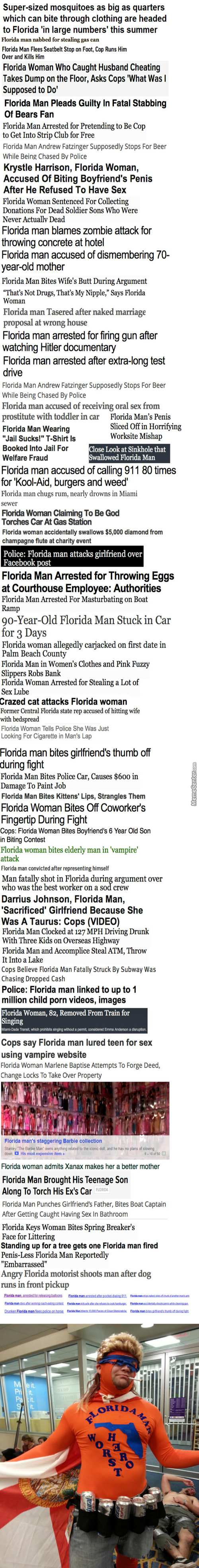 The Adventures Of Florida Man And His Wife