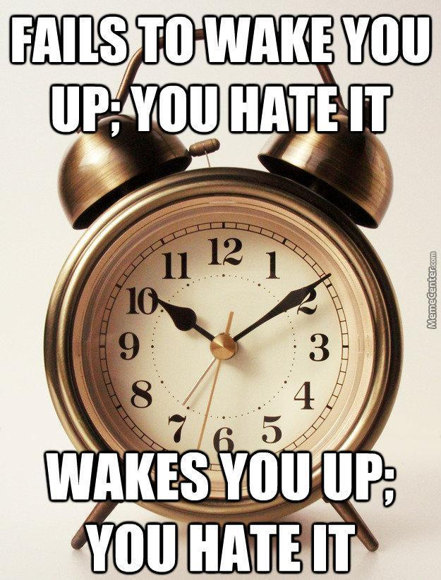 The Alarmclock Will Never Be Loved