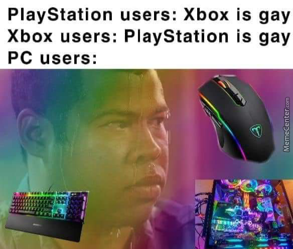 The Amount Of Dicks Pc Gamers Sucked Is The Same Amount Of Pc Games
