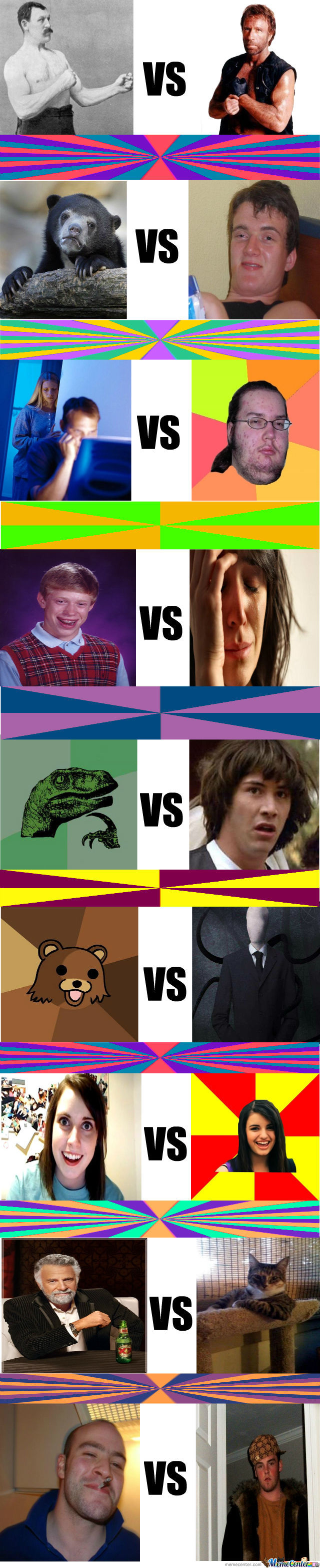 The Battle Of The Memes