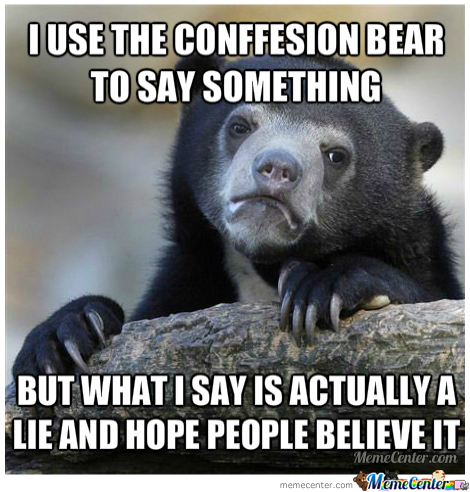 The Bears Speaks The Truth