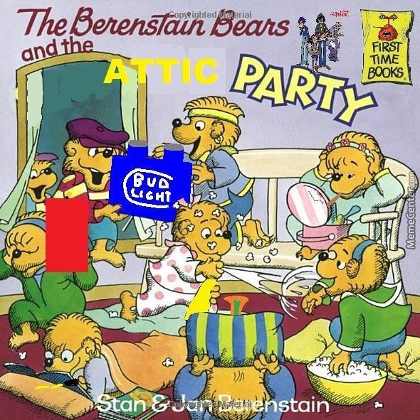 The Berenstain Bears And The Attic Party By Guest 68881