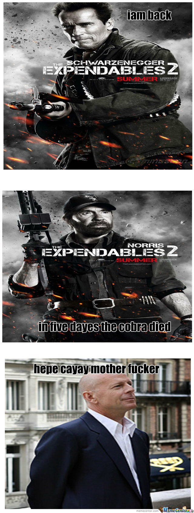 The Best Expendables 2 Qutes