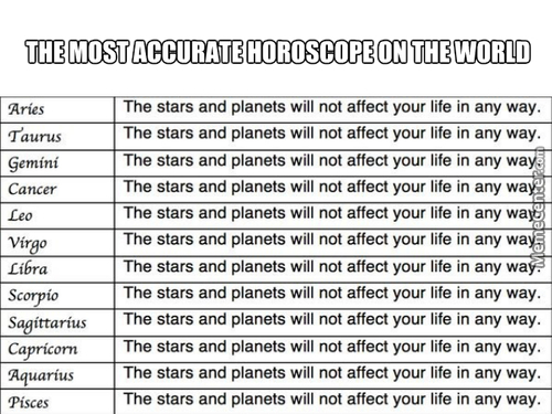 Horoscope Memes Best Collection Of Funny Horoscope Pictures