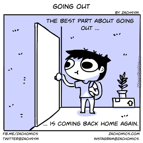The Best Part About Going Out...