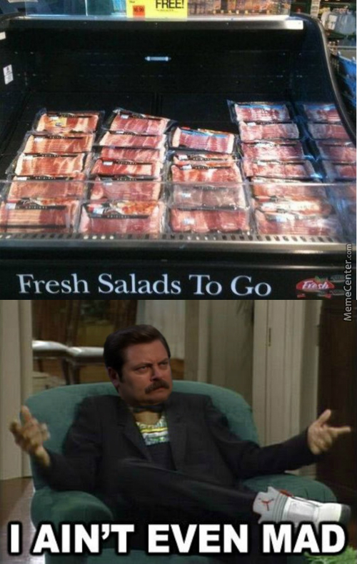 The Best Salad Is Bacon Salad