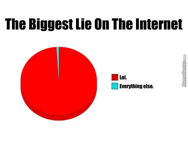 the biggest lies on the internet_o_4503721 the biggest lies on the internet by instantlightning meme center