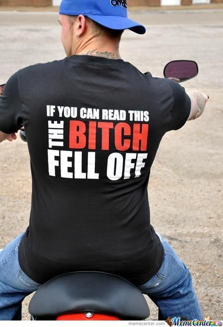 The Bitch Fell Off