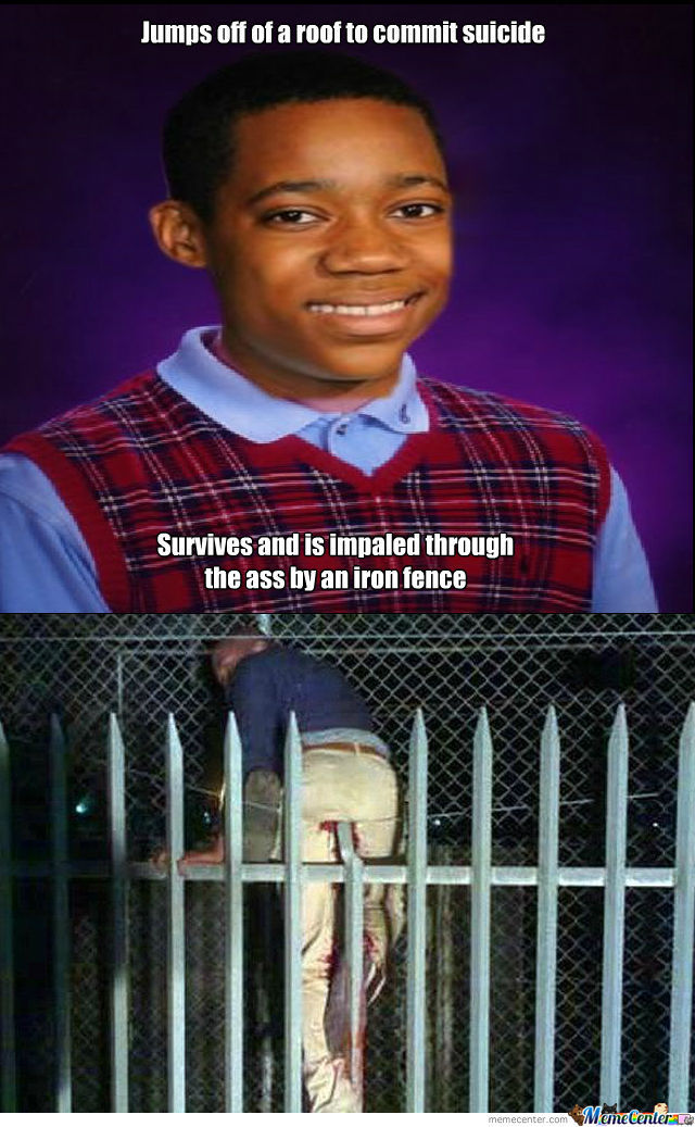 The Black Bad Luck Brian