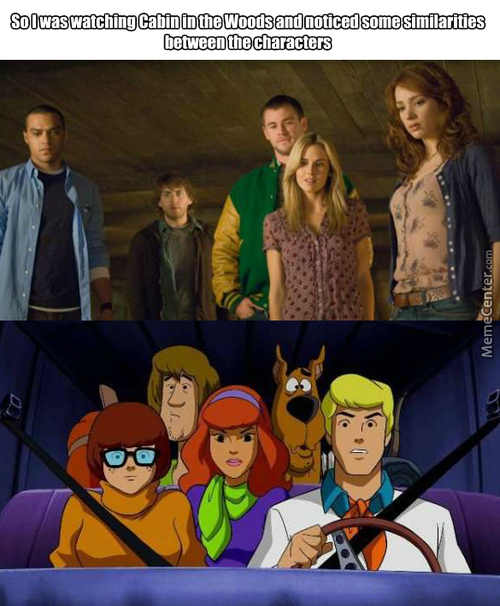 The Black Guy Is Scooby