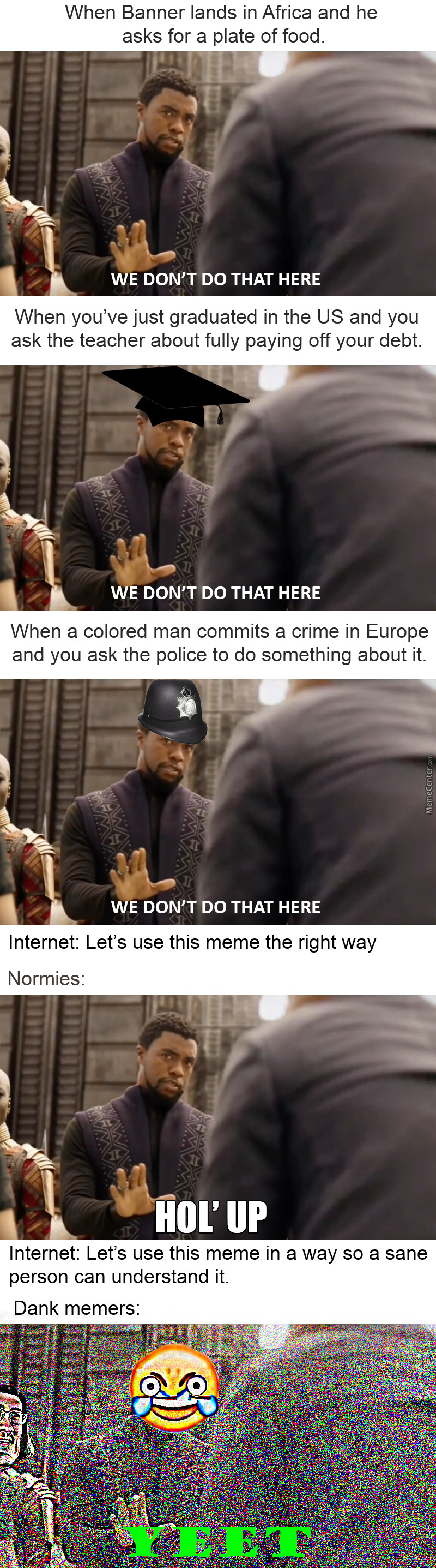 The Black Panther Meme Format Hasn't Gone Unnoticed Here