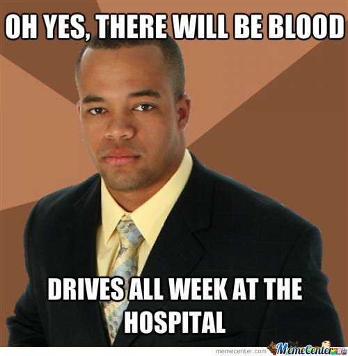 The Blood Will Be In Bags