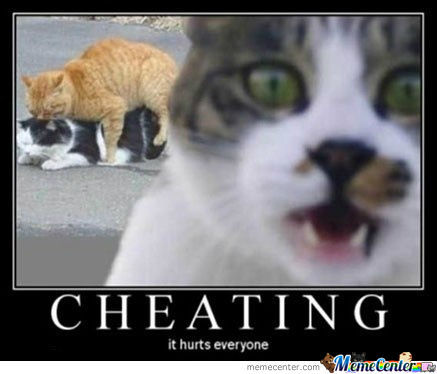 The Cheating Bastard !!