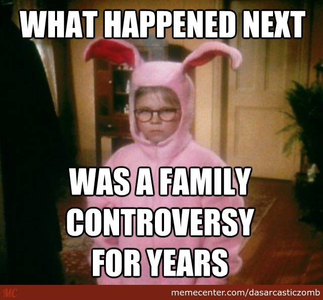 Christmas Story Meme.The Christmas Story By Dasarcasticzomb Meme Center
