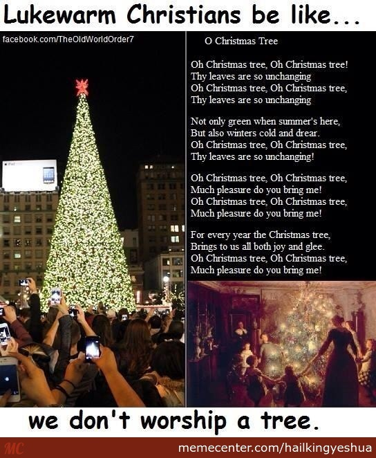 The Christmas Tree Is Nimrod/tammuz by recyclebin - Meme Center
